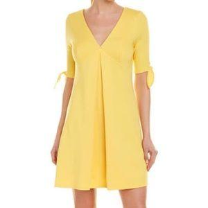 Bailey 44 Quarterdeck Ponte Knit Yellow Dress XS